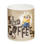 Minions - Tazza In Ceramica I Need Coffee