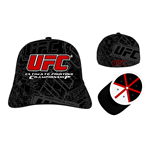 Ufc - All Embroidered Flex (Cappellino)