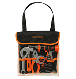 Black+Decker - Borsa Bricolage Con 5 Attrezzi