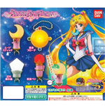 Sailor Moon - Crystal Light Mascot Con Illuminazione (Set 4 Soggetti)