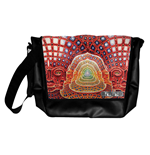 Tool - Black Messenger With Metal Badge (borsa Tracolla)