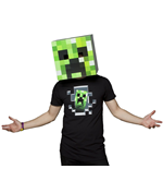 Minecraft - Box Head - Testa Da Costruire In Cartone (Assortimento Steve / Creeper / Enderman)