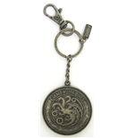 Game Of Thrones - Targaryen Shield Keychan - Portachiavi