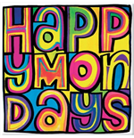Happy Mondays - Dayglo Logo (Magnete)