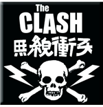 Clash (The) - Skull & Crossbones (Magnete)