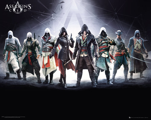 Poster Assassin's Creed Characters