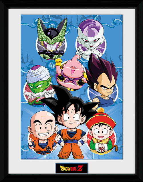 Stampa Dragon ball Incorniciata