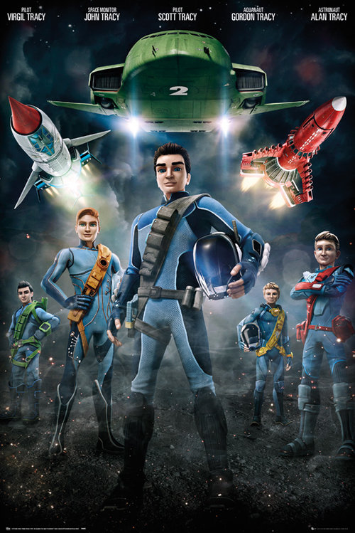 Poster Thunderbirds 185462