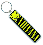 Nirvana - Smiley Logo (Portachiavi Metallo)