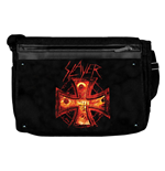 Slayer - Black Messenger W/ Fire Cross (shoulder Bags)