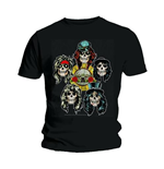 T-shirt Guns N' Roses Vintage Heads
