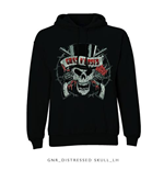 Felpa Guns N' Roses Distressed Skull