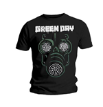 T-shirt Green Day Green Mask