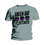 T-shirt Green Day Three Heads Better Than One