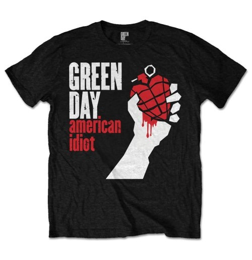 T-shirt Green Day American Idiot