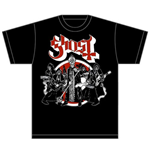 T-shirt Ghost Road to Rome
