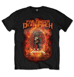 T-shirt Five Finger Death Punch Burn in Sin