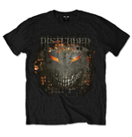 T-shirt Disturbed Fire Behind