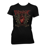 T-shirt Bullet For My Valentine da donna Temper Temper Filigree
