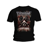 T-shirt Bullet For My Valentine Temper Temper Gas Mask