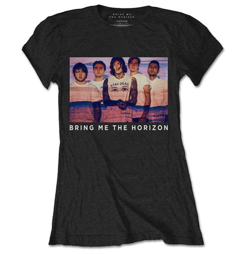 T-shirt Bring Me The Horizon da donna Photo Lines
