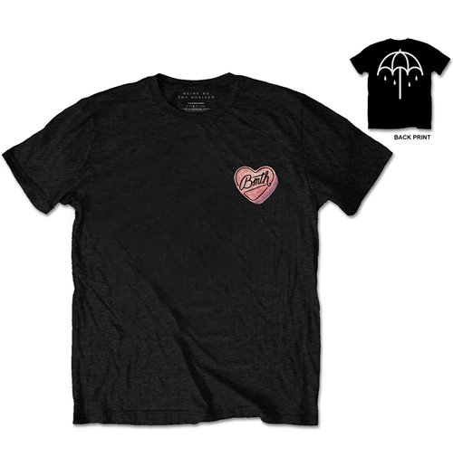 T-shirt Bring Me The Horizon Hearted Candy