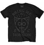 T-shirt Bring Me The Horizon Hand Drawn Shield