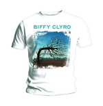 T-shirt Biffy Clyro Opposites White