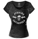 T-shirt Avenged Sevenfold da donna Classic Death Bat