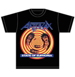 T-shirt Anthrax State of Euphoria