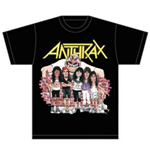 T-shirt Anthrax Euphoria Group Sketch