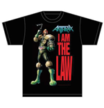 T-shirt Anthrax I am the Law