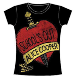 T-shirt Alice Cooper da donna School's Out