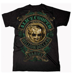 T-shirt Alice Cooper Billion Dollar Baby Crest