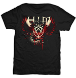 T-shirt Him Wings Splatter