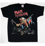 T-shirt Iron Maiden da bambino Trooper