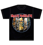 T-shirt Iron Maiden Eddie Evolution