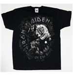 T-shirt Iron Maiden da bambino Number of the Beast
