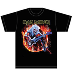 T-shirt Iron Maiden Fear Live Flames