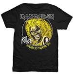 T-shirt Iron Maiden Killer World Tour '81