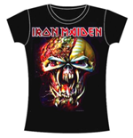T-shirt Iron Maiden da donna Final Fronter