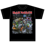 T-shirt Iron Maiden Knebworth Moon buggy