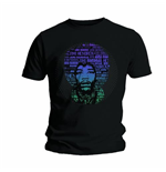 T-shirt Jimi Hendrix Afro Speech