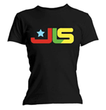 T-shirt JLS da donna Logo Multi Colour