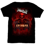 T-shirt Judas Priest Epitaph Red Horns