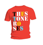 T-shirt The Stone Roses Font Logo Red