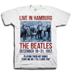 "T-shirt The Beatles ""1962"" Live in Hamburg"