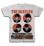 T-shirt The Beatles 2 Performing Live