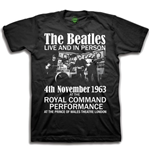 T-shirt The Beatles Live & in Person