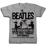 T-shirt The Beatles Prince of Wales Theatre